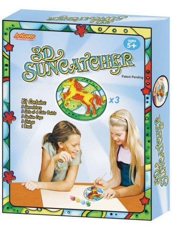 Paint Your Own 3d Horse Suncatcher Set