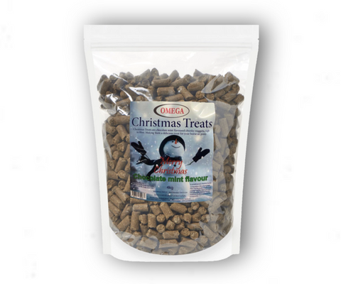 Omega Equine Treats Chocolate Mint flavour