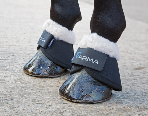 Arma Fleece Trimmed Over Reach Boots