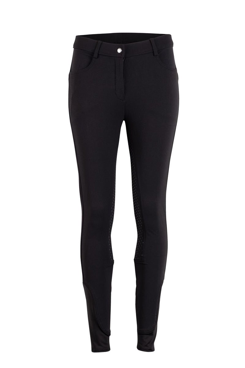 Montar Essential High Waisted Breeches Black Full Seat