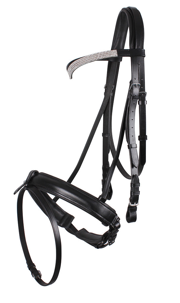 Draft Shire Horse Elegance Bridle