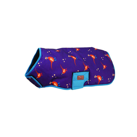 Benji & Flo Patrick the Pheasant Waterproof Dog Coat