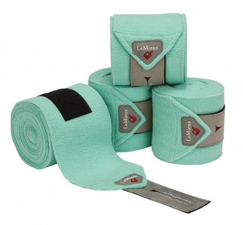 LeMieux Luxury Fleece Polo Bandages Mint