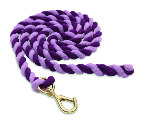 Shires Two Tone Headcollar Lead Rope