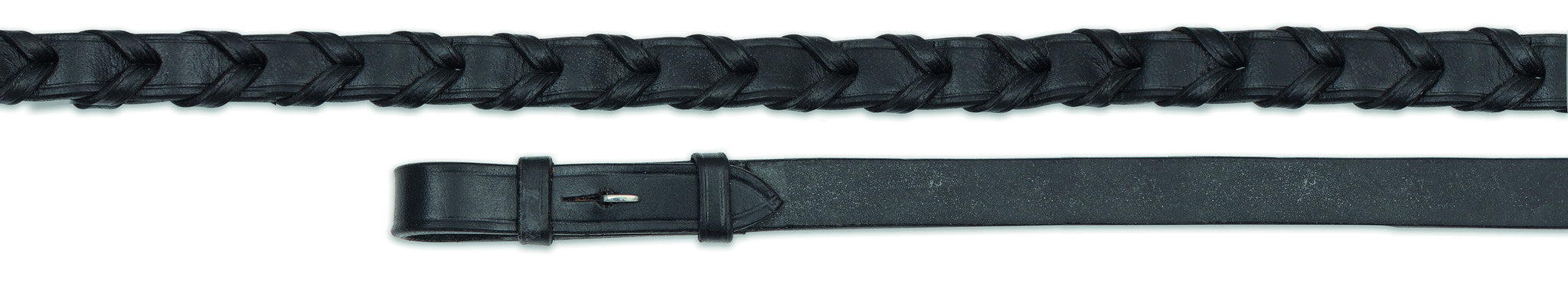 Shires Aviemore Laced Leather Reins