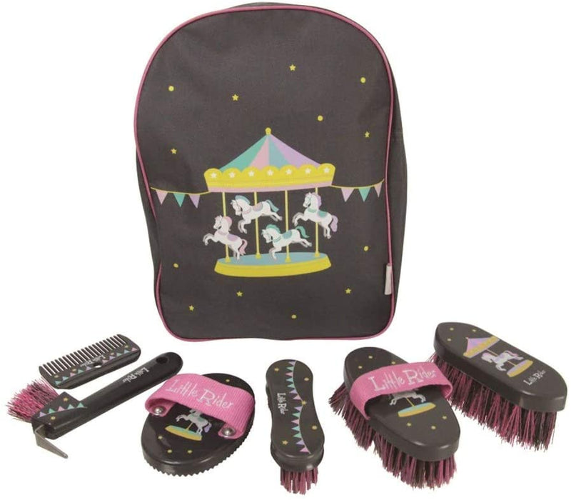 Little Rider Merry Go Round Complete Rucksack Grooming Kit