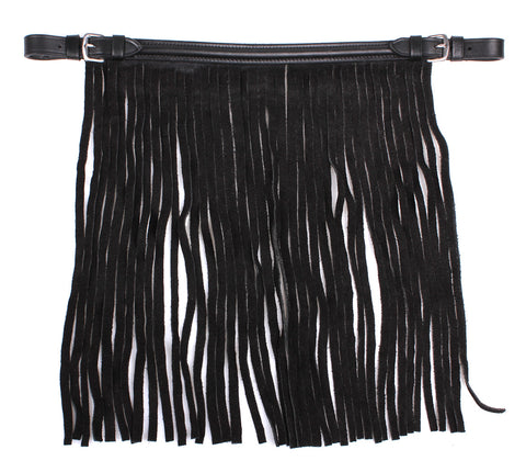 Anti-Fly Fringe leather