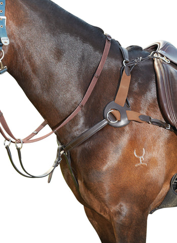KIincade Leather 5 Point Breastplate