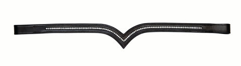 Kincade V Shaped Diamante Browband