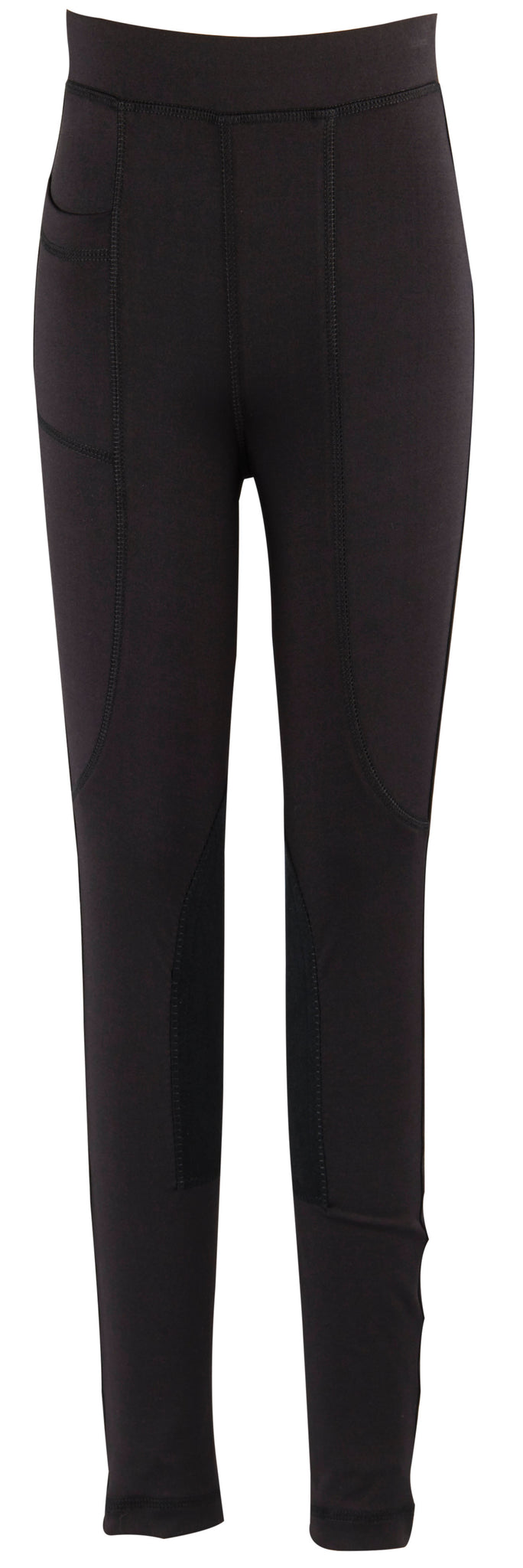 Dublin Childs Perfomance Flex Knee Patch Riding Tights