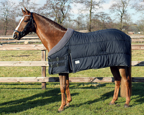Stable Under rug with fleece collar 300gsm