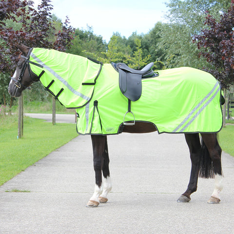 Exercise Fly Rug Reflective Hi Viz
