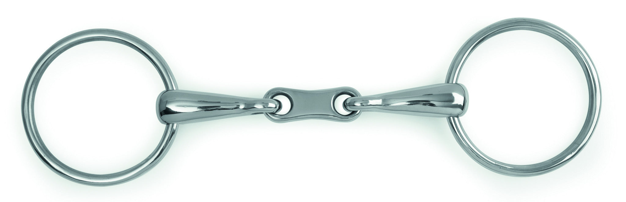 French Link Loose Ring Snaffle Bit