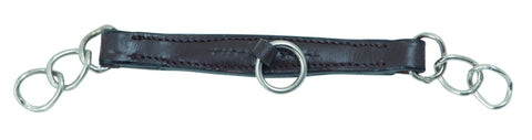 Shires Blenheim Leather Curb Chain