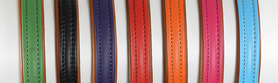 Digby & Fox Padded Leather Dog Lead