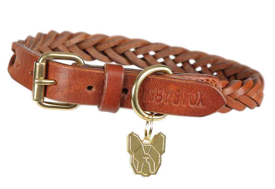 Digby & Fox Plaited Dog Collar