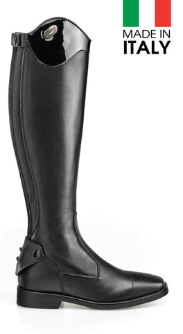 Brogini Livorno Long Boot With Patent Top