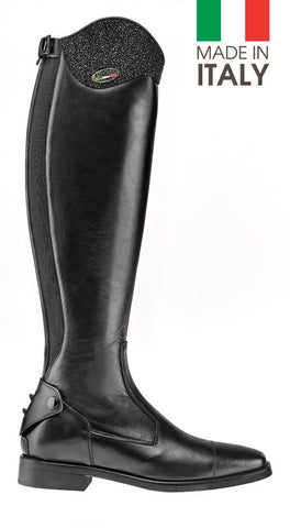 Brogini Livorno Long Boot With Micro-Crystal Top