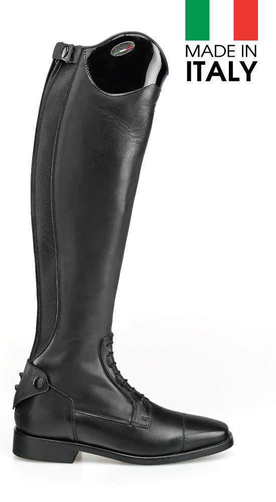 Brogini Arezzo Long Boot With Patent Top