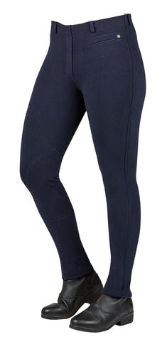 Dublin Supa-Fit Pull on Knee Patch Jodhpurs