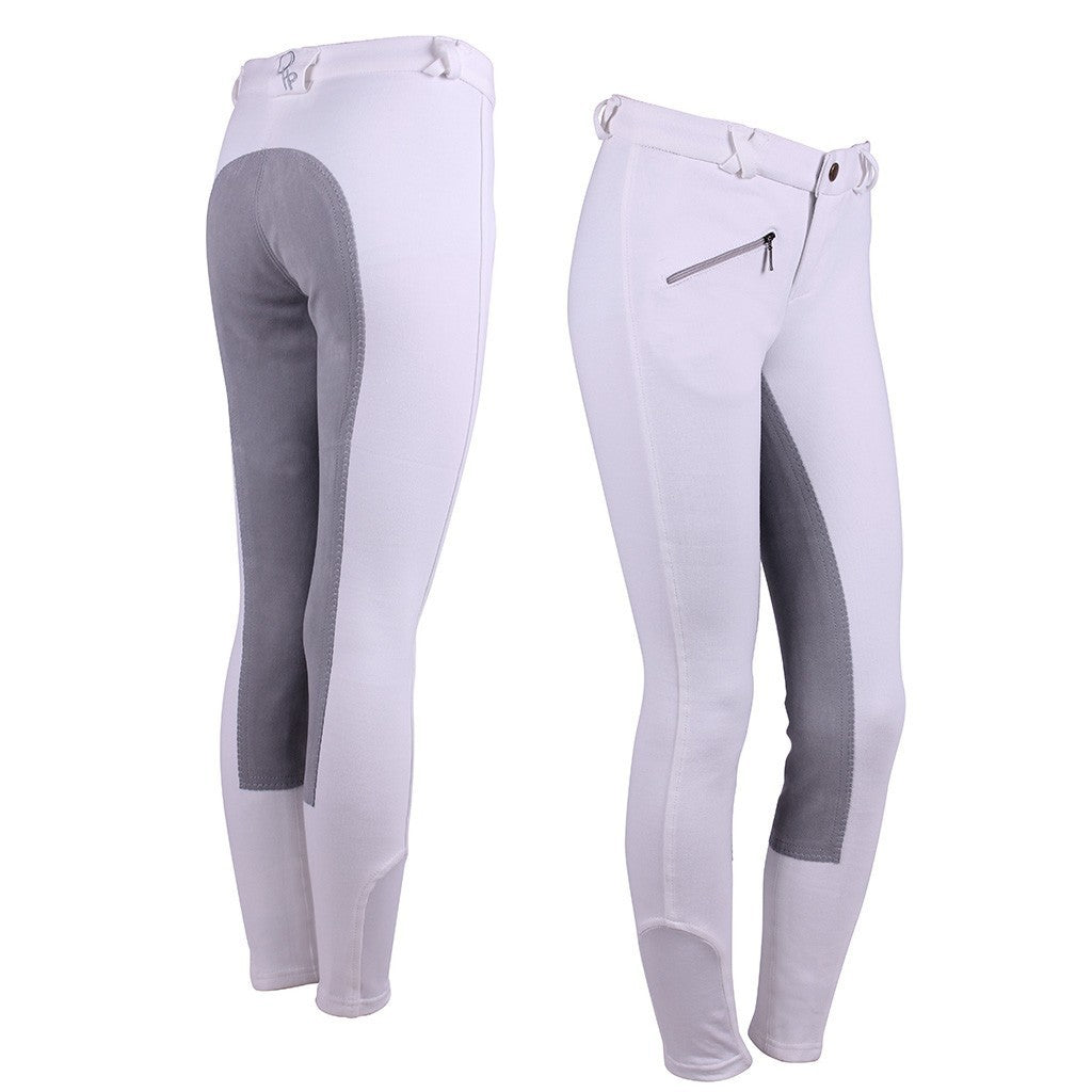 Junior Leather Seat Breeches