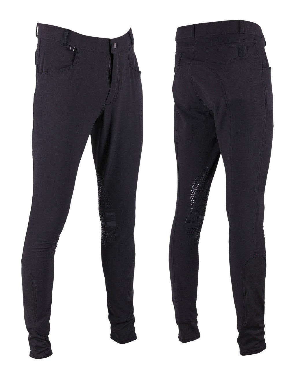 Mens Luc Silicon Knee Patch Breeches