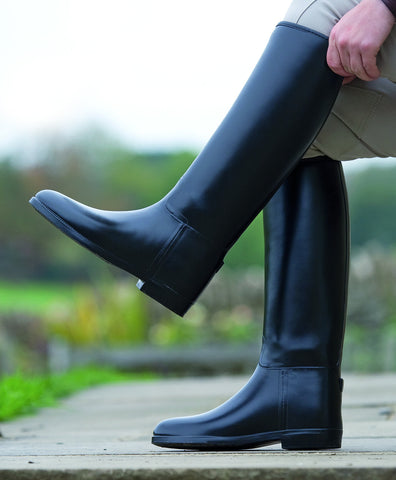Shires Long Rubber Riding Boots-Men's