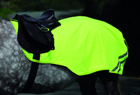 Shires EQUI-FLECTOR Reflective Mesh Exercise Sheet