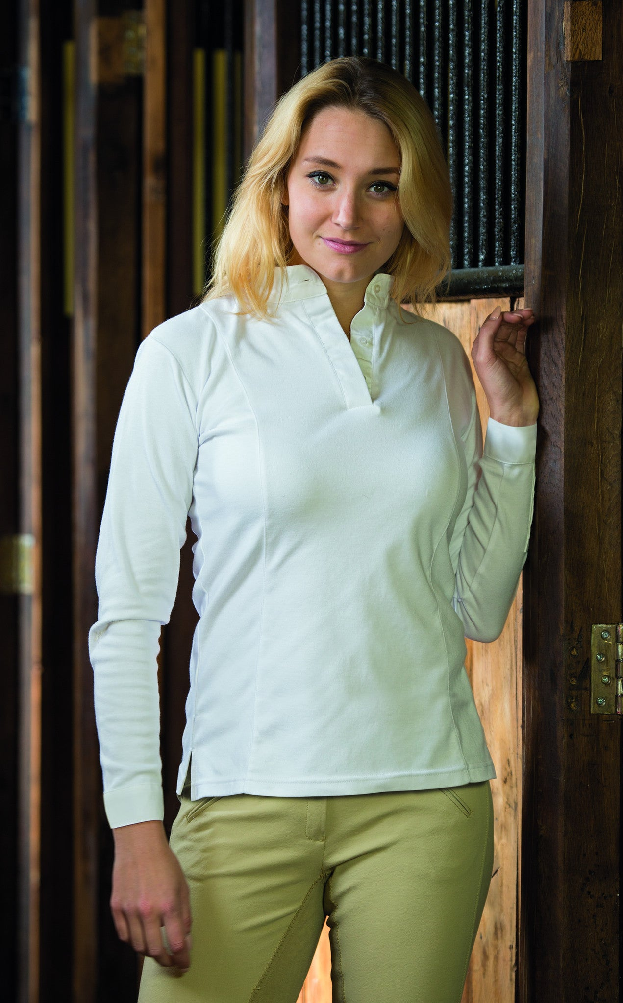 Shires Thermal Hunting Shirt - Ladies