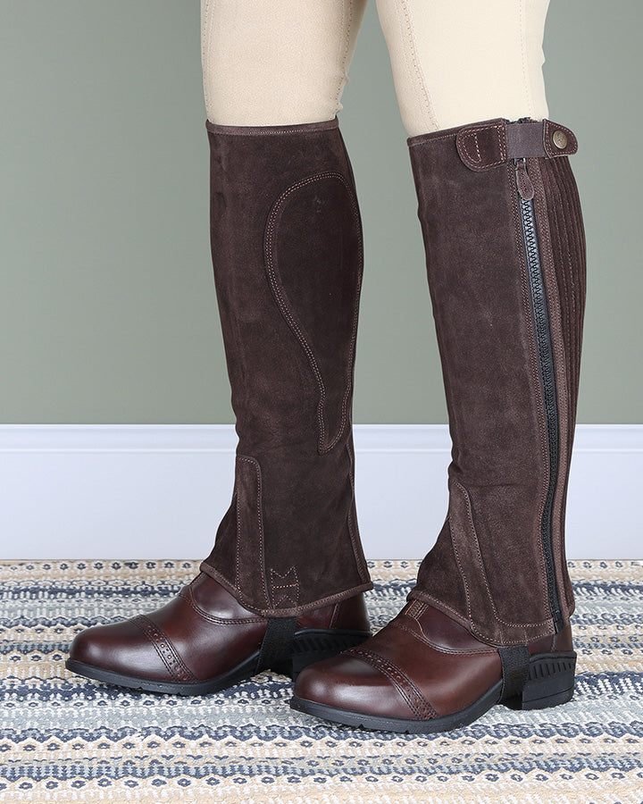 Moretta Suede Half Chaps - Adults