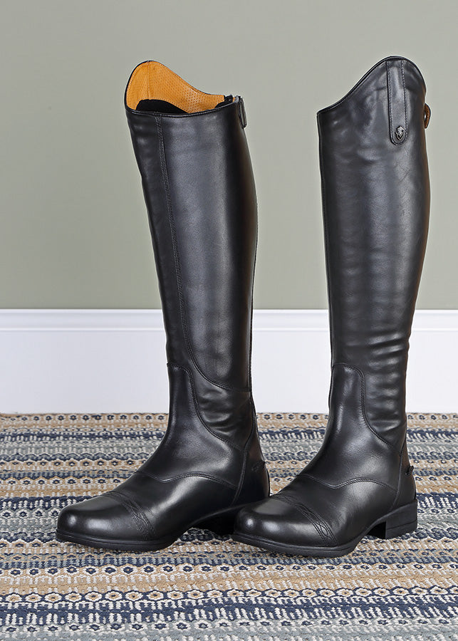 Moretta Aida Childs Long Leather Riding Boots