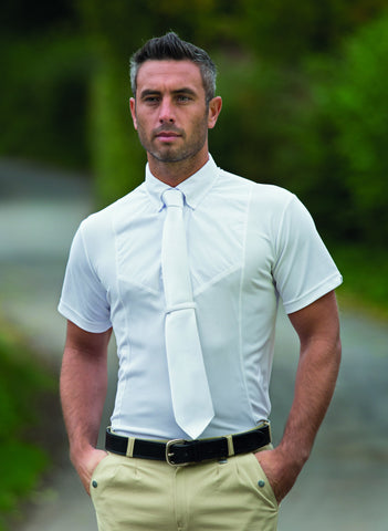 Aubrion Short Sleeve Tie Shirt - Gents