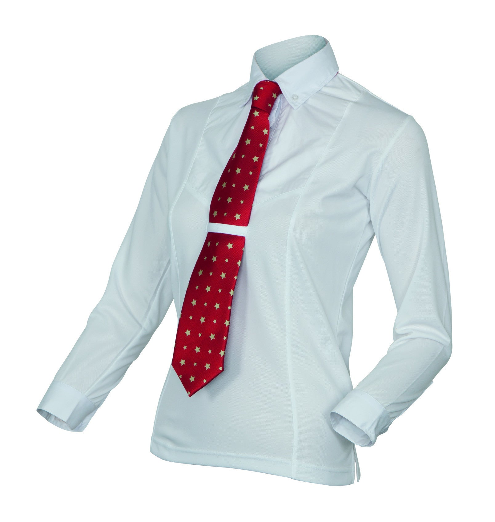Shires Long Sleeve Tie Shirt - Children's