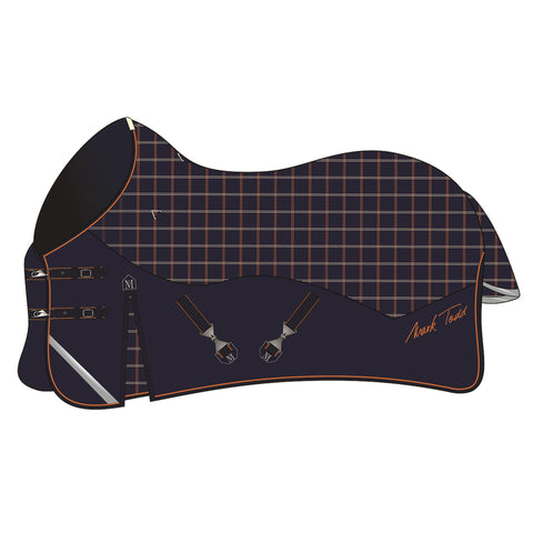 Mark Todd Medium Weight Turnout Rug - Plaid
