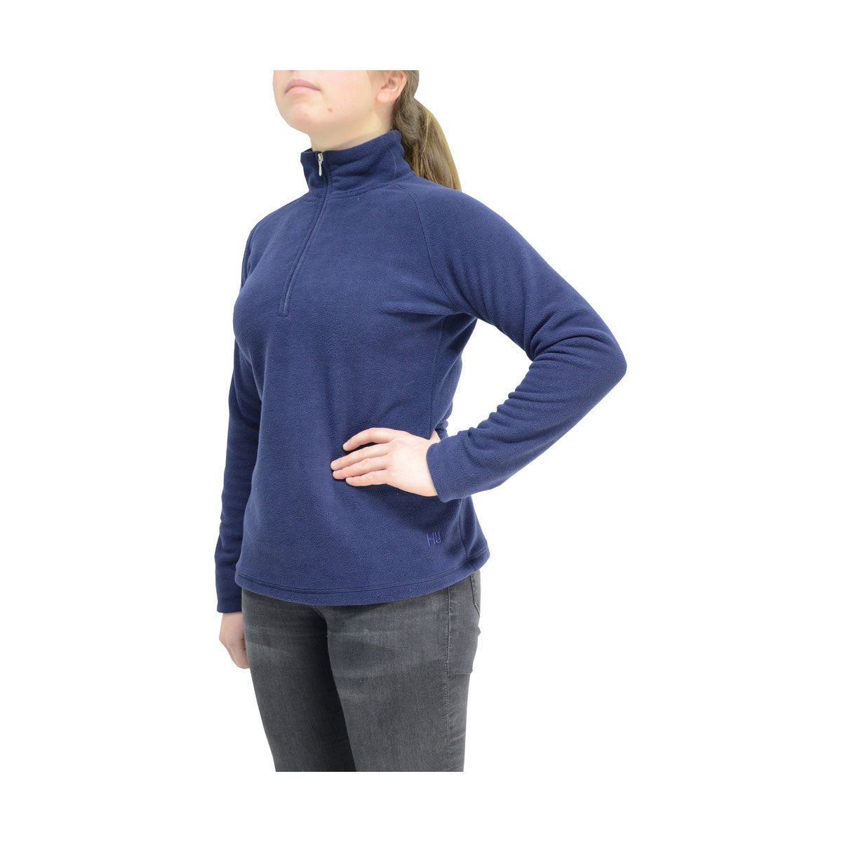 HyFASHION Basic Navy Fleece.