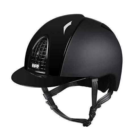 KEP Cromo Black Polish Riding Hat