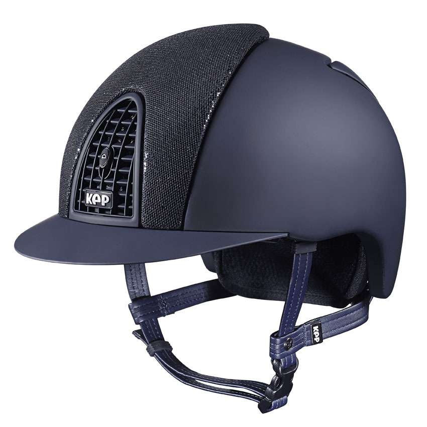 Kep Cromo Front Glitter Riding Hat