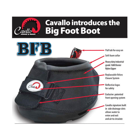 Cavallo Big Foot Boot