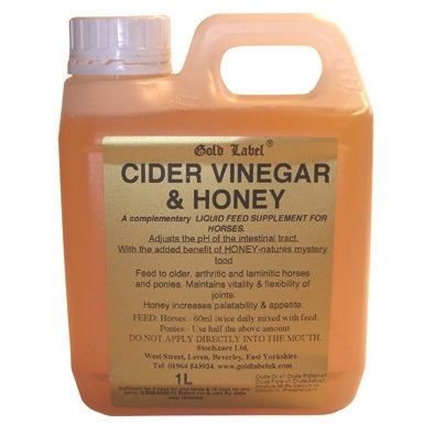 Gold Label Cider Vinegar & Honey