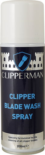 Clipperman Clipper Blade Wash Spray x 200 Ml