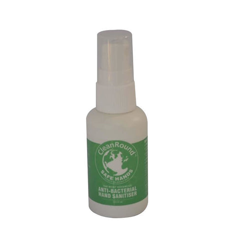 CleanRound Safe Hands Antibacterial Hand Sanitiser - 50 Ml