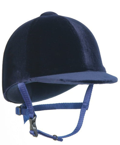 Champion CPX 3000 Junior Velvet Riding Hat