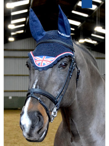 John Whitaker Bling Union Jack Fly Veil