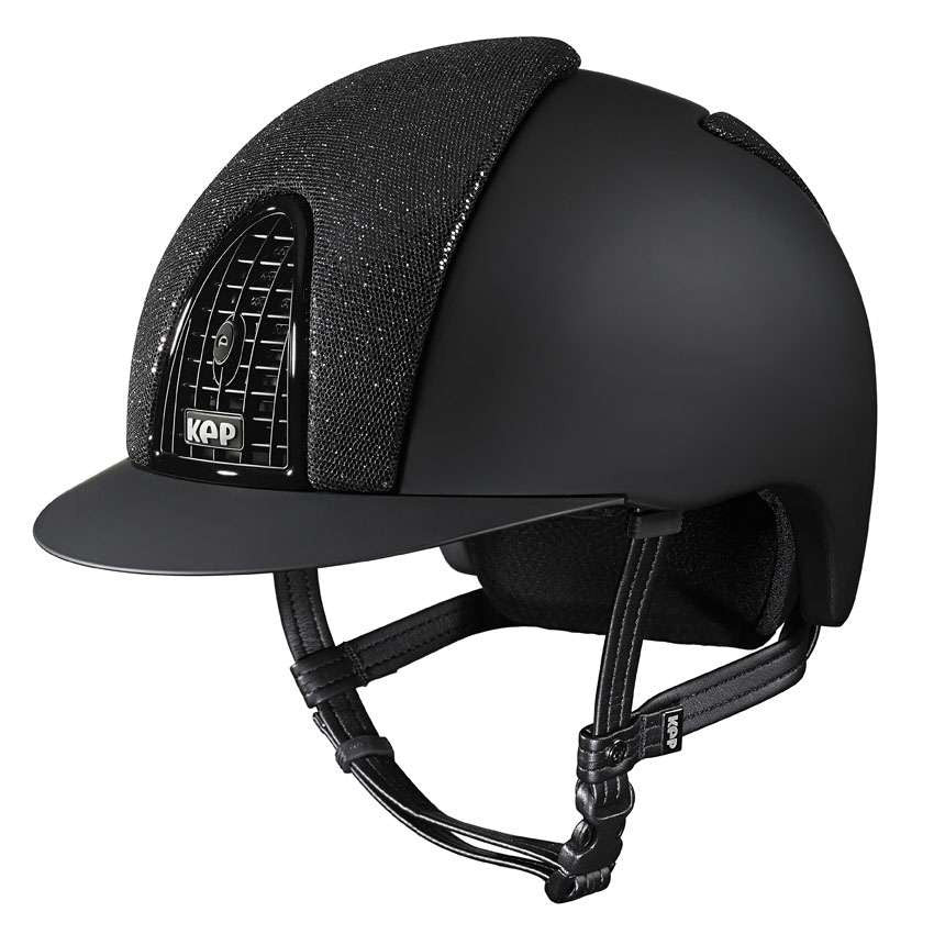 KEP Cromo Front & Back Glitter Riding Hat