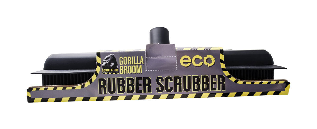 Gorilla Rubber Scrubber Broom Head