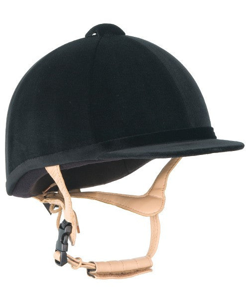 Champion Grand Prix Velvet Riding Hat