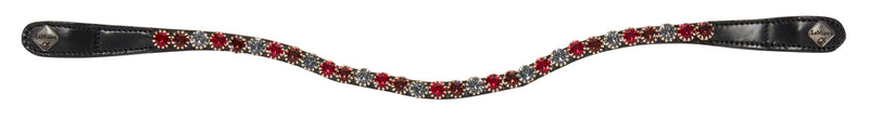LeMieux Spectrum Diamante Browband Mulberry