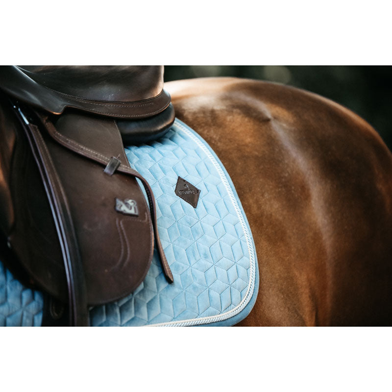 Kentucky Horsewear Velvet Saddle Pad Showjumping