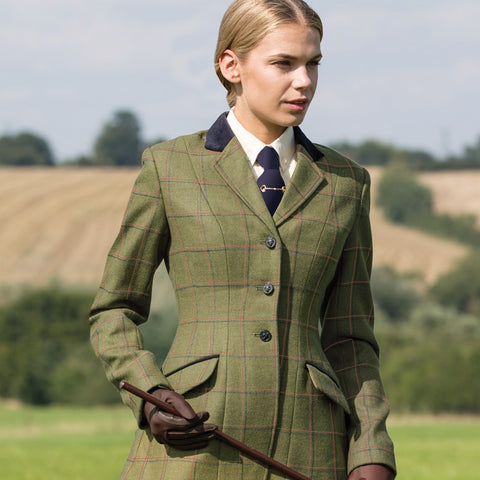 Equetech Launton Deluxe Tweed Riding Jacket