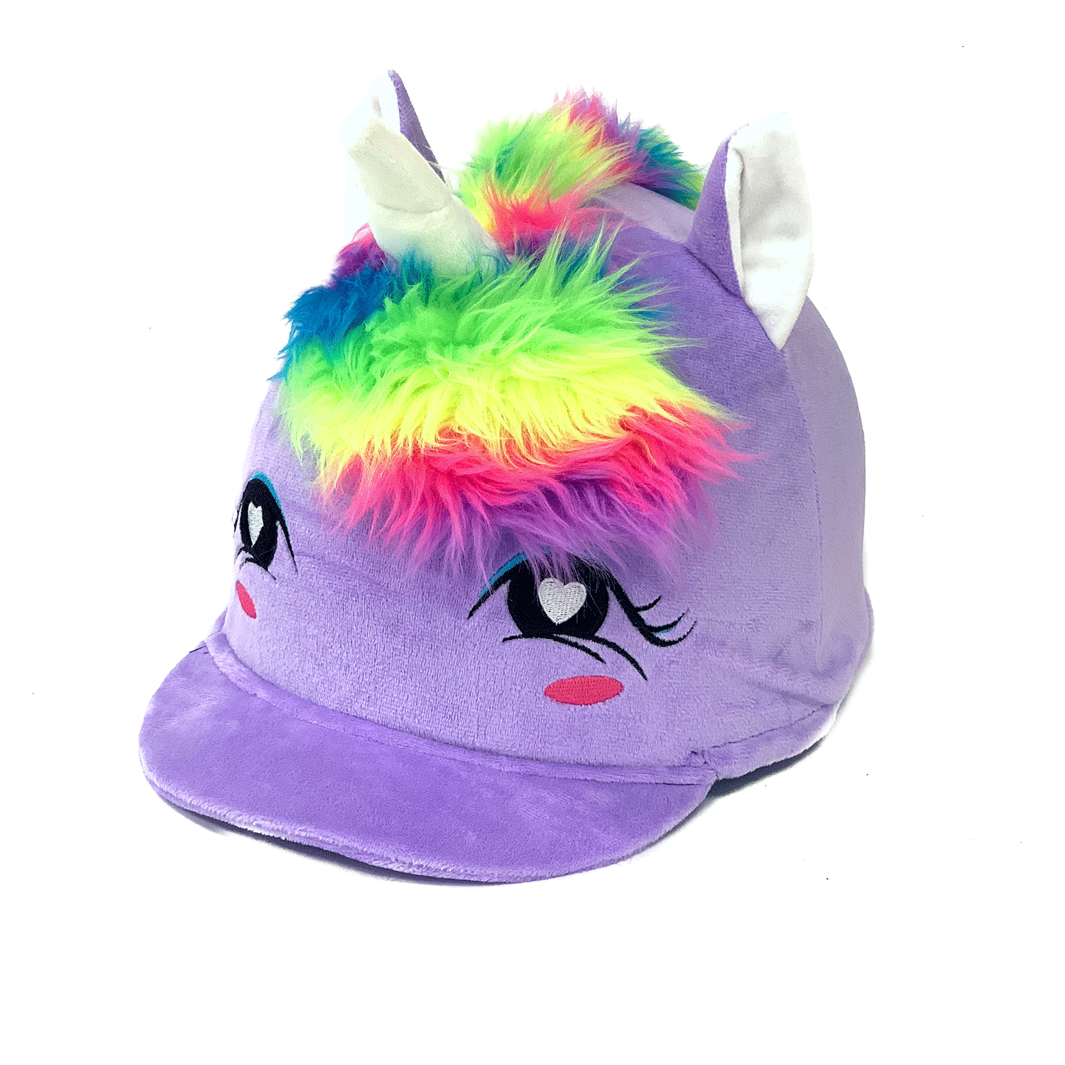 TWILIGHT Unicorn Plush Fleece Hat Silk